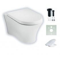 Roca Nexo wandhängendes Tiefspül-WC mit Beschichtung Spülrandlos A34664L000