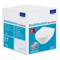 VB Combi-Pack Architectura 4694HR Oval Weiß Alpin CeramicPlus