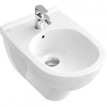 Villeroy & Boch Bidet O.novo 5460 360x560mm mit Überlauf wandhängend Weiß Alpin C+