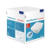 Villeroy & Boch Combi-Pack Architectura 5685 DirectFlush wandhängend Weiß Alpin C+