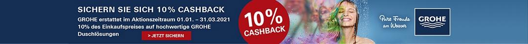 Grohe Advertising 10% cashback